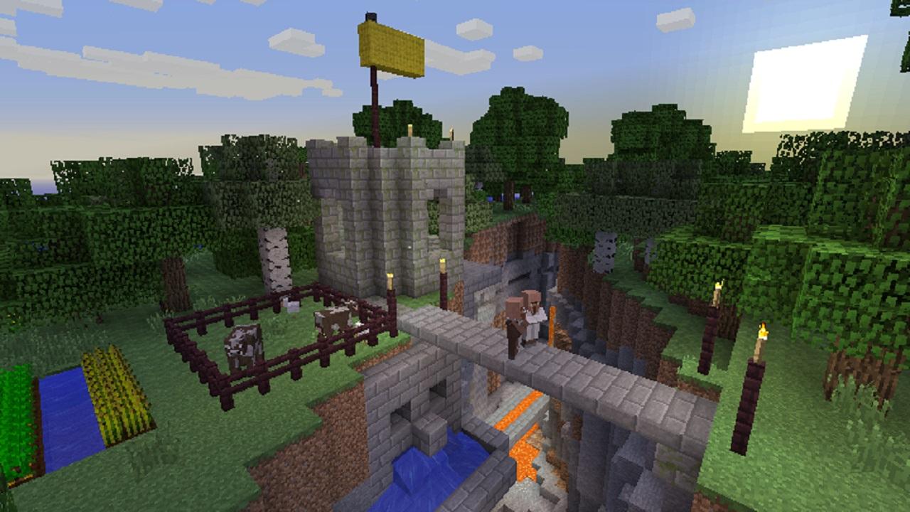 Minecraft ps vita edition gamechanger for Vita house