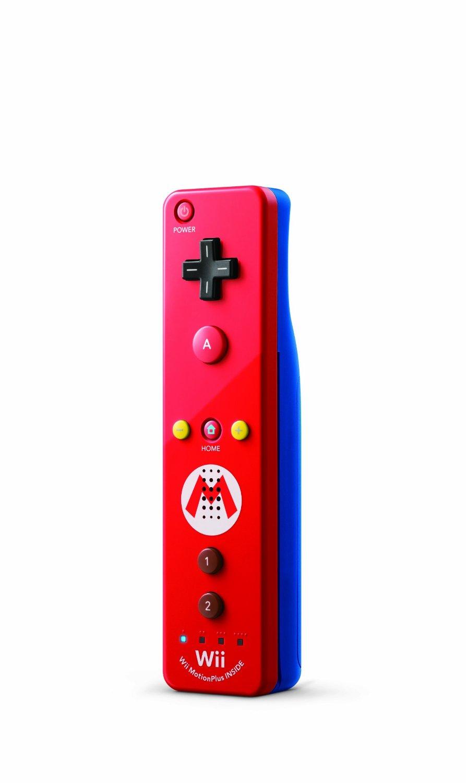 Nintendo Wii U Remote Mario Edition Gamechanger