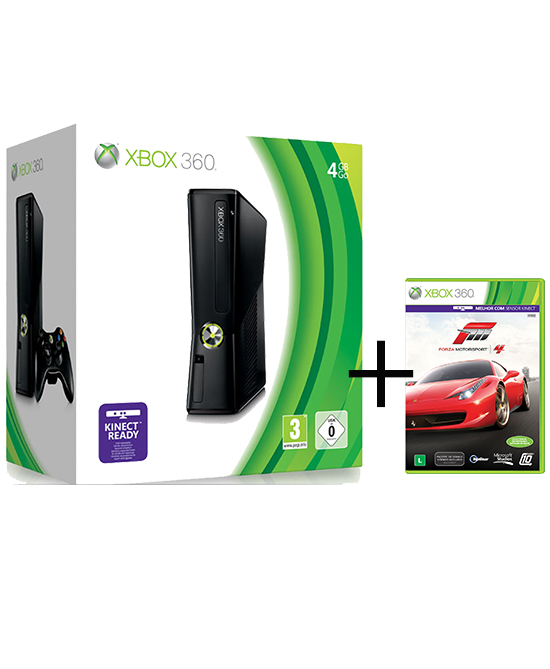 xbox 360 console 4gb forza motorsport 4 gamechanger