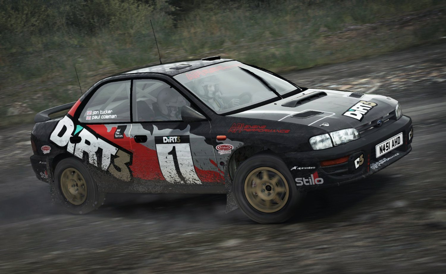 dirt rally gamechanger. Black Bedroom Furniture Sets. Home Design Ideas