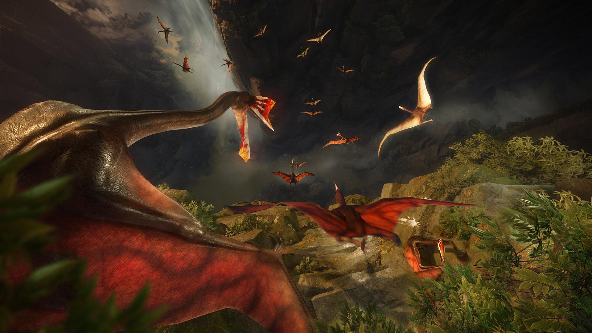 PS4 VR Game Robinson :The Journey - Gamechanger