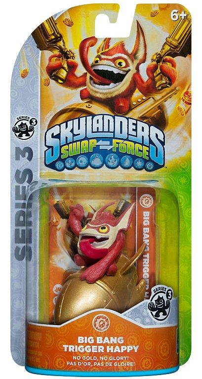 Legendary trigger happy skylanders