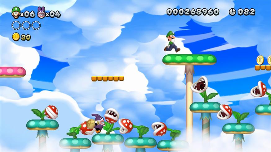 New Super Mario Bros U + New Super Luigi U - Gamechanger
