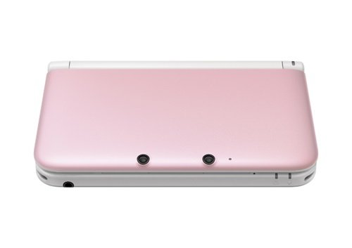 nintendo 3ds xl console pink and white gamechanger. Black Bedroom Furniture Sets. Home Design Ideas