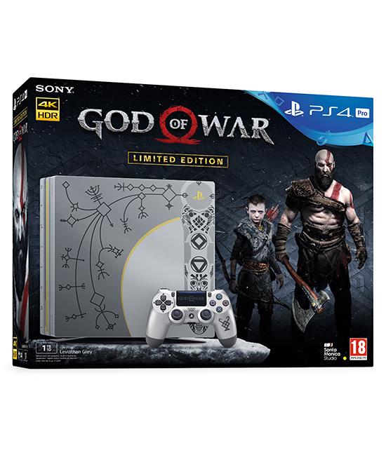 Limited Edition God Of War Ps4 Pro Bundle Gamechanger