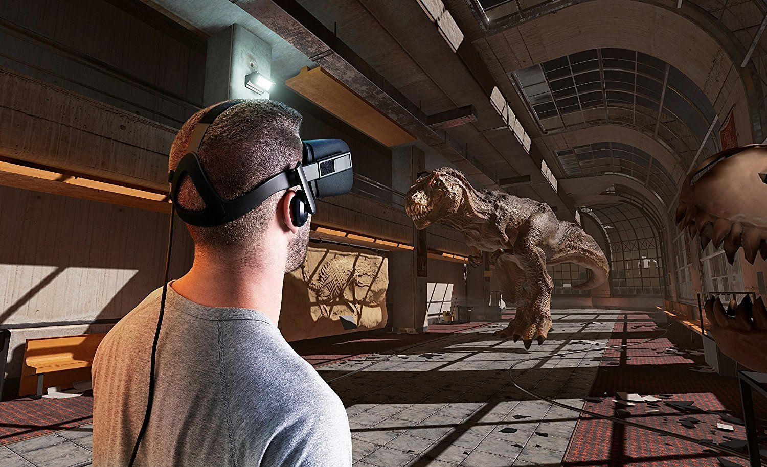 Rift VR Headset With Touch Controller Oculus 1 2 3 4