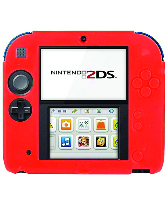 super popular 1a7bd 9caab Nintendo 2DS Silicone Cover Red - Gamechanger