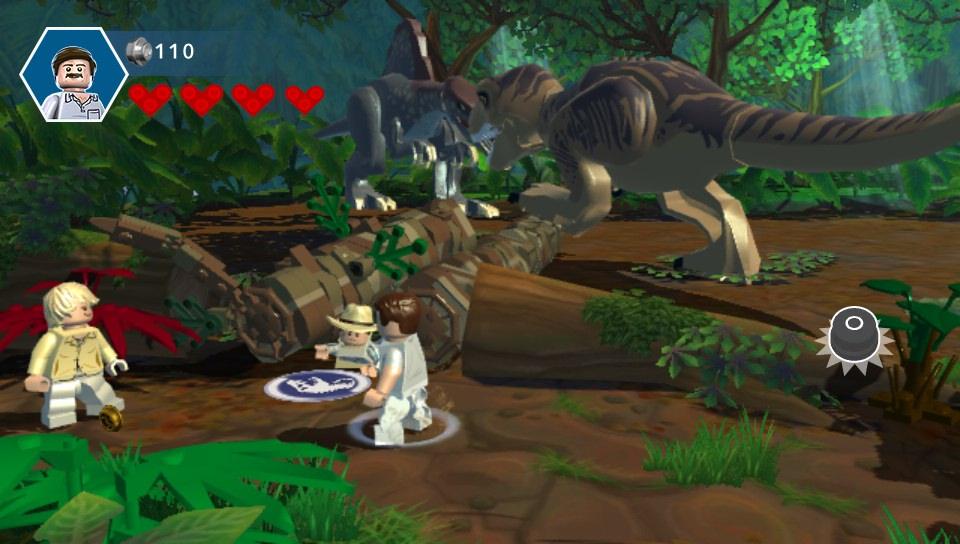 Lego Jurassic World Gamechanger