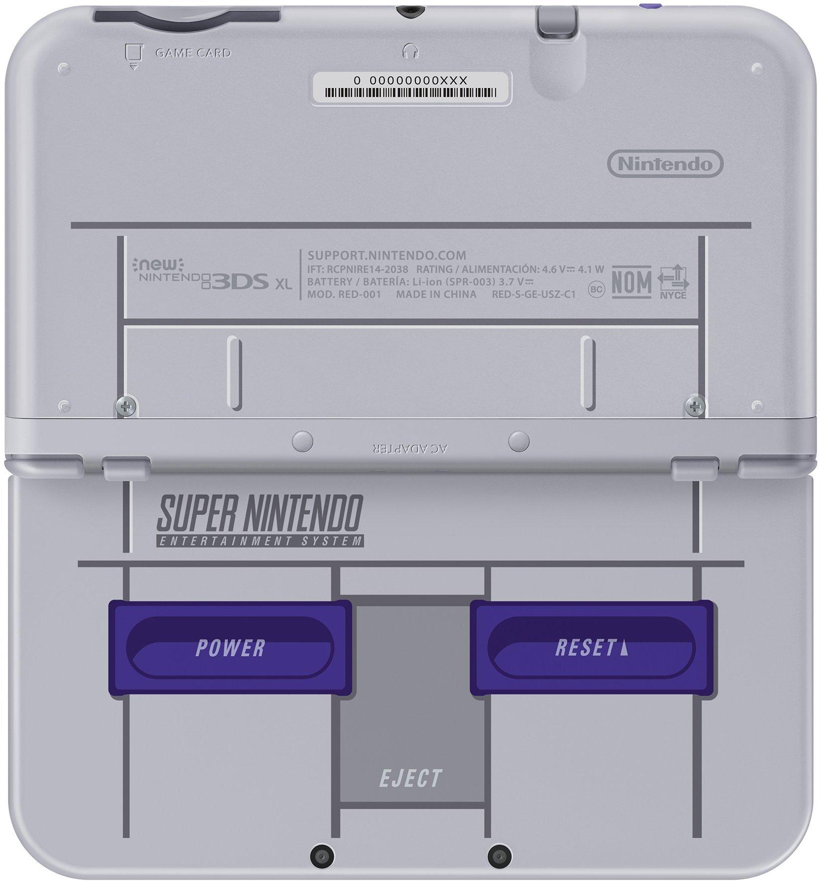 new nintendo 3ds xl console snes edition